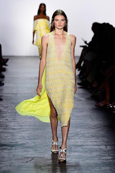 Неделя моды в Нью-Йорке 2015: день шестой | галерея [2] фото [1]