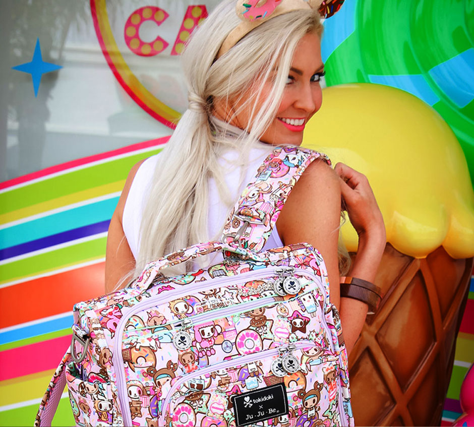 Сумка-рюкзак для мамы Ju-Ju-Be & Tokidoki «Donutella's Sweet Shop»