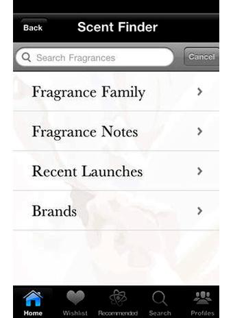 Приложение iPerfume фото 2
