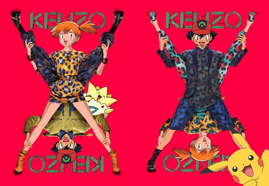 Покемоны в рекламных кампаниях люксовых брендов