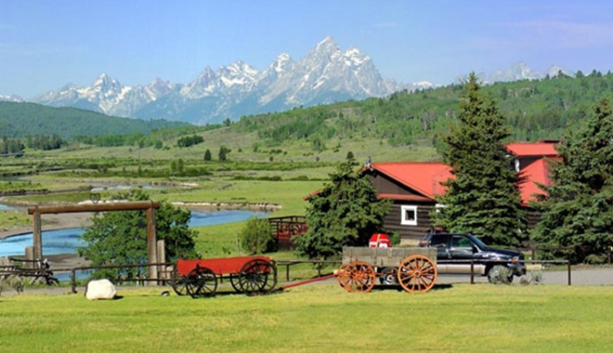 Heart Six Ranch, Moran, США