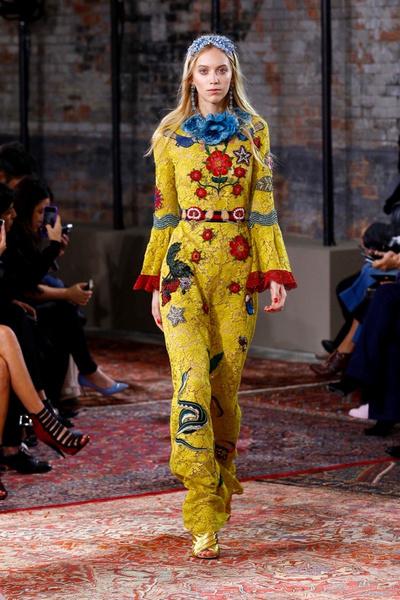 Дом Gucci представил новую круизную коллекцию 2016 | галерея [2] фото [46]