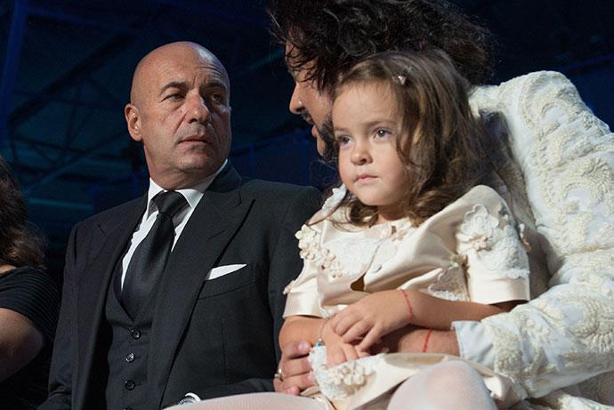 Игорь Крутой и Филипп Киркоров с дочкой