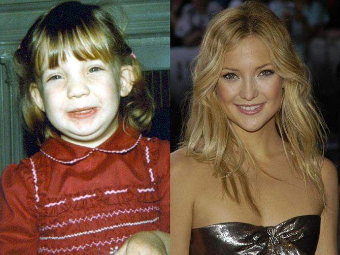 Кейт Хадсон Звезды голливуда в детстве фото