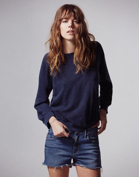 Фрея Беха Эриксен создала коллекцию одежды для джинсового бренда Mother