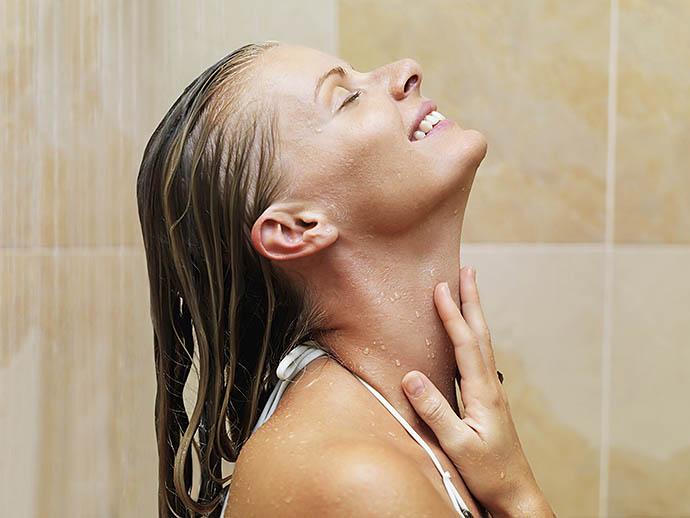 аллергия на душ