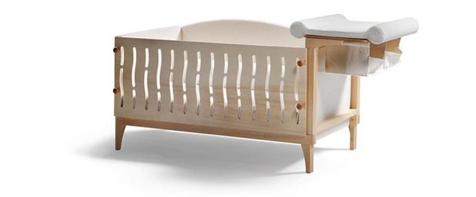 Кроватка-трансформер Delfi, Axil, www.axil.it, компания WWTS.