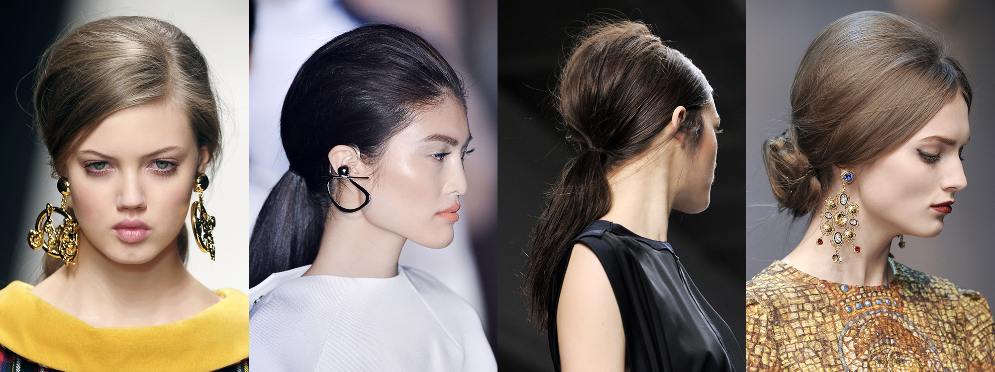Moschino, Thierry Mugler, Rabih Kayrouz, Dolce & Gabbana