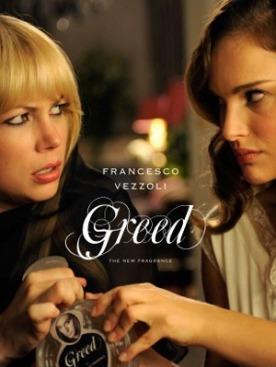 Натали Портман и Мишель Уильямс в рекламной кампании аромата Greed