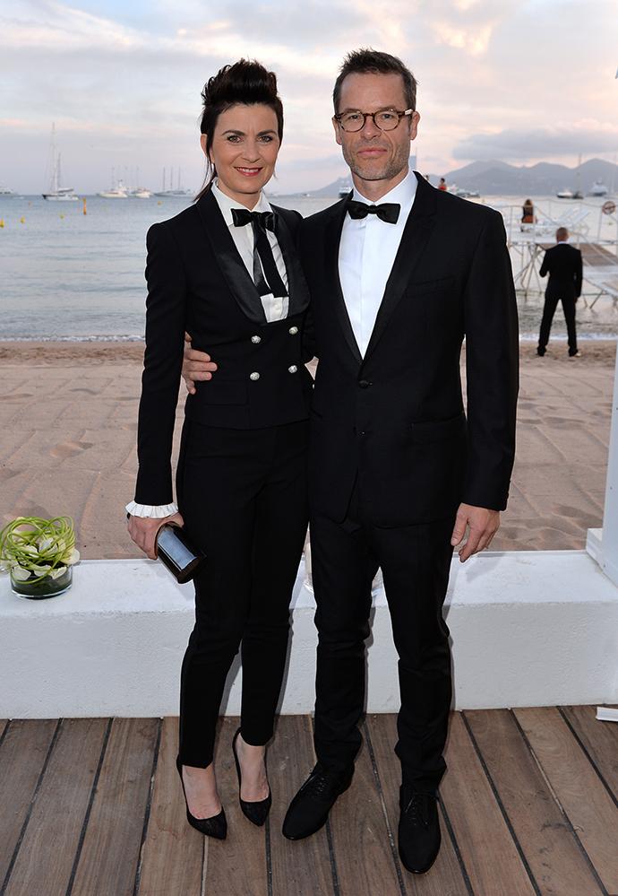 Гай Пирс с супругой Кейт Местиц
