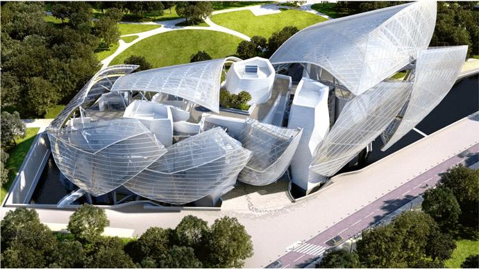Центр современного искусства Fondation Louis Vuitton