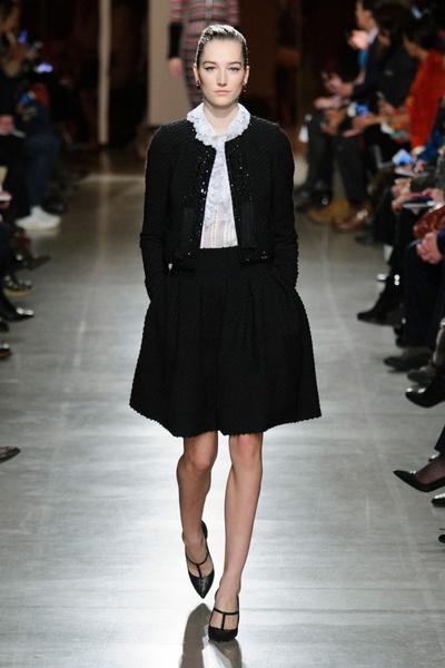 Показ Oscar de la Renta на Неделе моды в Нью-Йорке | галерея [1] фото [47]