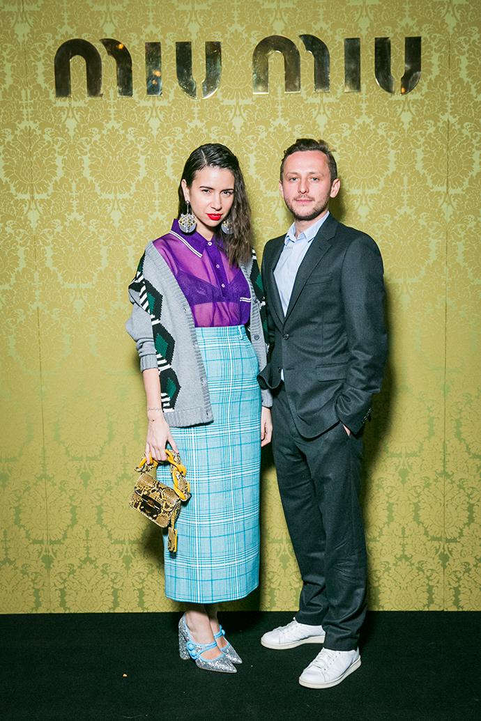 Наталья Гольденберг и Андрей Артемов