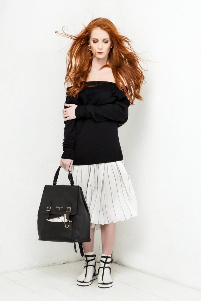 Александра Федорова приняла участие в проекте Patrizia Pepe Fashion Gets Personal
