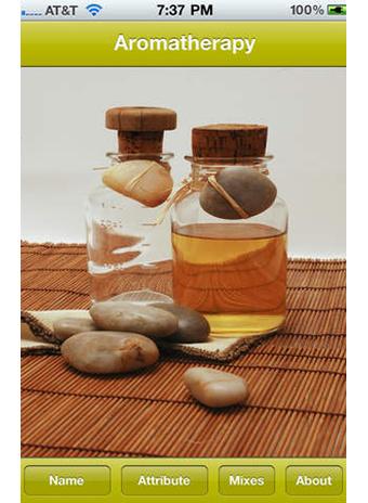 Приложение Aromatherapy Guide
