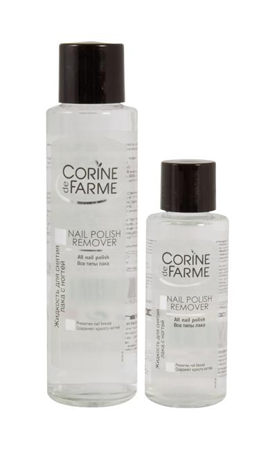 Жидкость для снятия лака, Corine de Farme