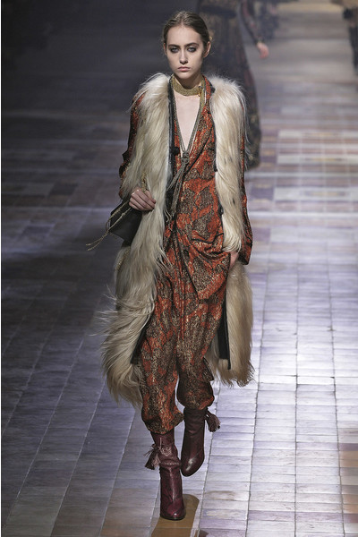 Показ Lanvin на неделе моды в Париже | галерея [1] фото [36]