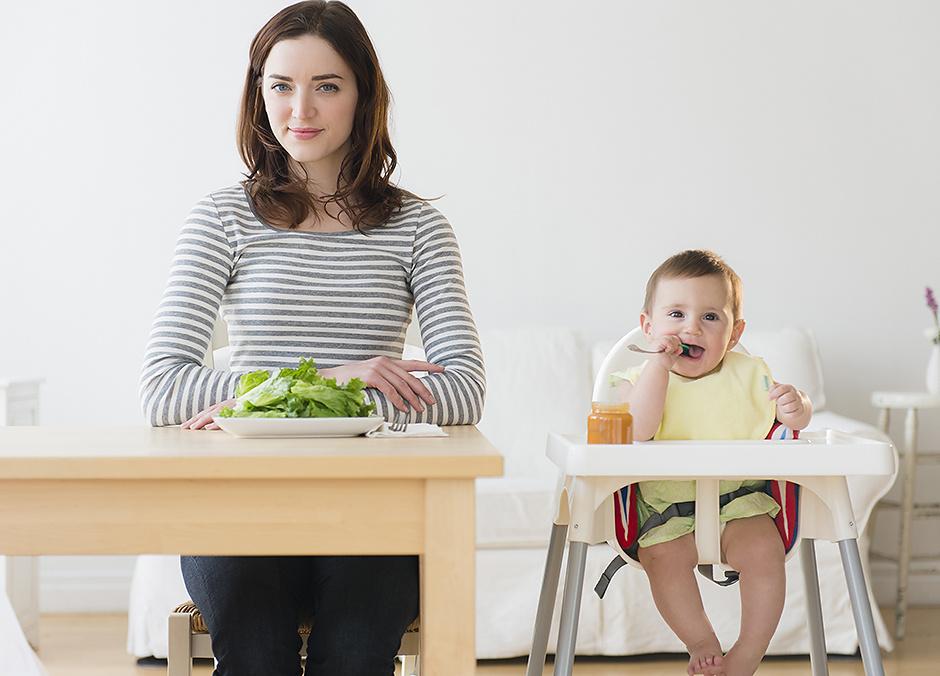 Как быстро вернуться в форму после родов