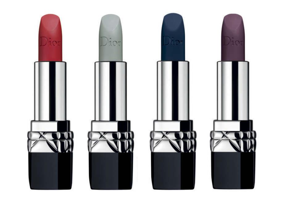 Матовые помады Rouge Dior Extreme Matte Shades от Dior