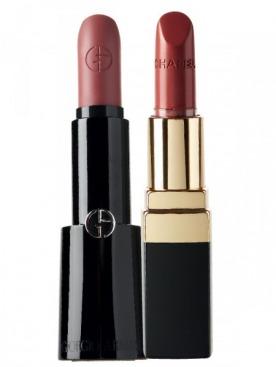 Две громкие новинки марта: помада Rouge d'Armani, Giorgio Armani. И Rouge Coco, Chanel, представлять которую будет Ванесса Паради. Ждем!