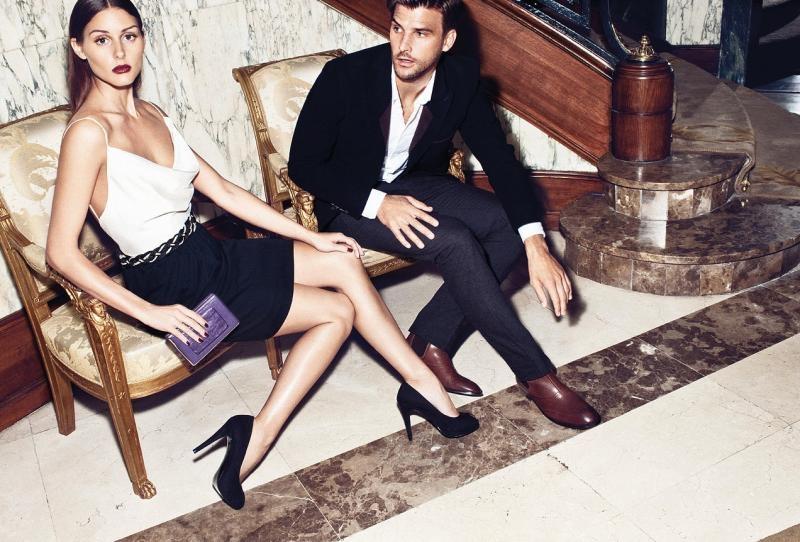 Оливия Палермо и Йоханнес Хьюбл в рекламной кампании Mango фото