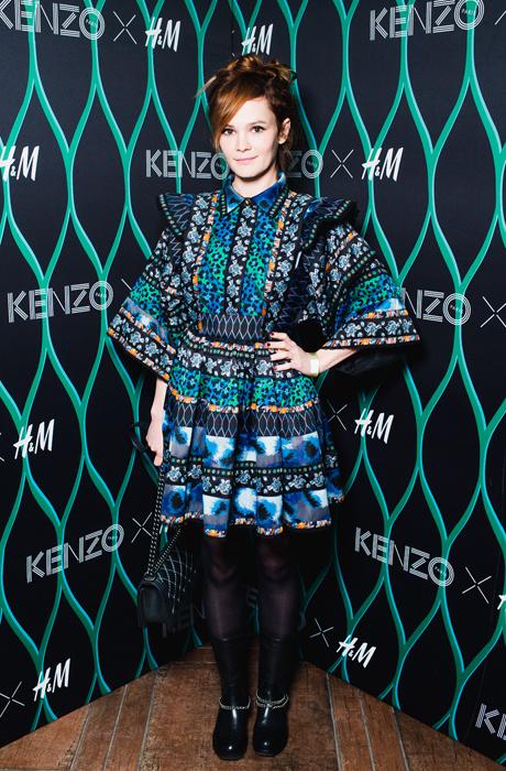 Звезды на вечеринке в честь запуска коллекции Kenzo x H&M