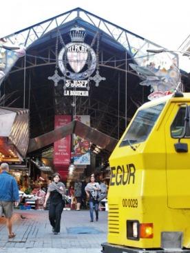 Рынок St. Joseph La Boqueria на улице La Rambla