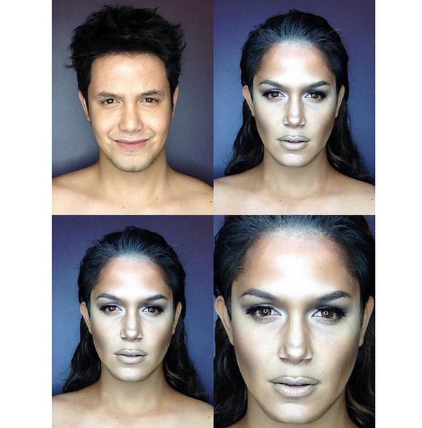 Филиппинский визажист перевоплотился в звезд с помощью макияжа | галерея [1] фото [1]