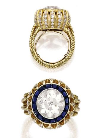 Звездные кольца Cartier