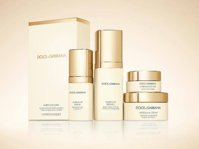 Вся гамма средств линии Aurealux от Dolce&Gabbana Skincare