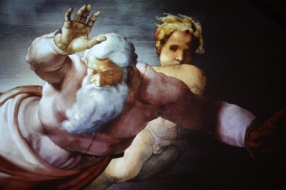 Открытие выставки «Микеланджело. Сотворение мира»