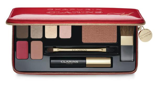 Лимитированный набор для праздничного макияжа Palette Maquillage Chapurin by Clarins