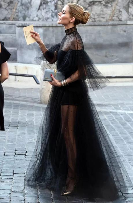 3. Платье из тюля