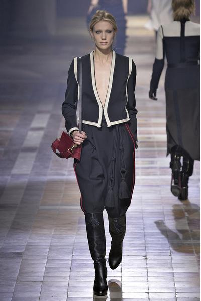 Показ Lanvin на неделе моды в Париже | галерея [1] фото [22]