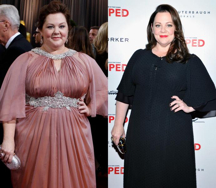Мелисса МакКарти толстая худая похудела потолстела