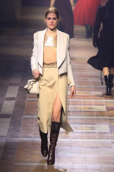 Показ Lanvin на неделе моды в Париже | галерея [1] фото [12]