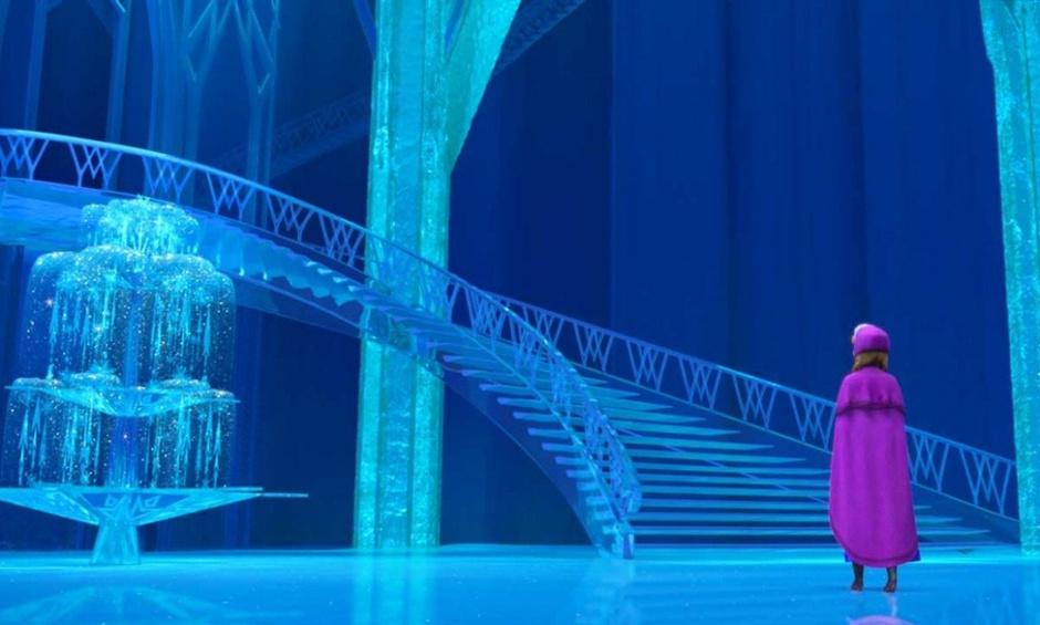 Замок Эльзы из мультфильма «Холодное сердце»