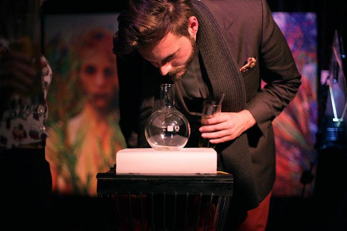 Презентация нового аромата Do Not Ask Me Why 406 от Кристофера Бросиуса