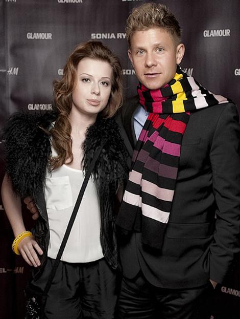 Юля Савичева и Митя Фомин