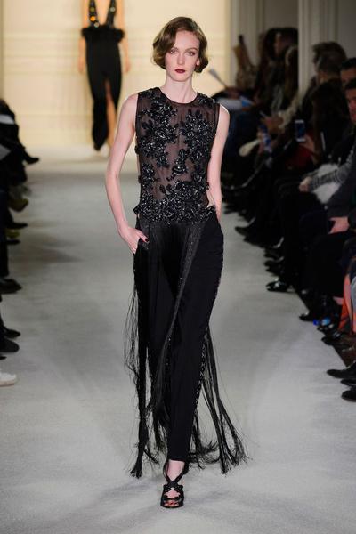 Показ Marchesa на Неделе моды в Нью-Йорке | галерея [1] фото [17]