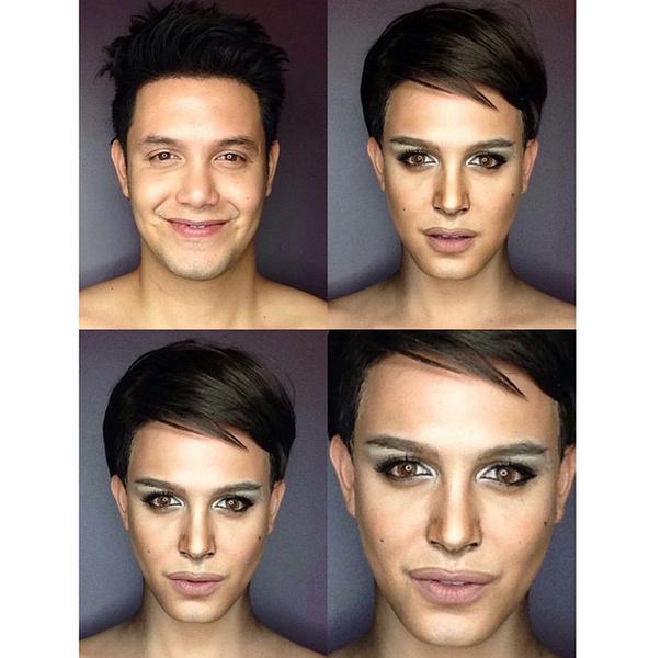 Филиппинский визажист перевоплотился в звезд с помощью макияжа | галерея [1] фото [8]
