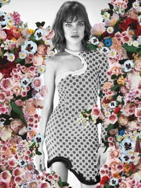 Наталья Водянова в рекламе Stella McCartney весна-лето 2012