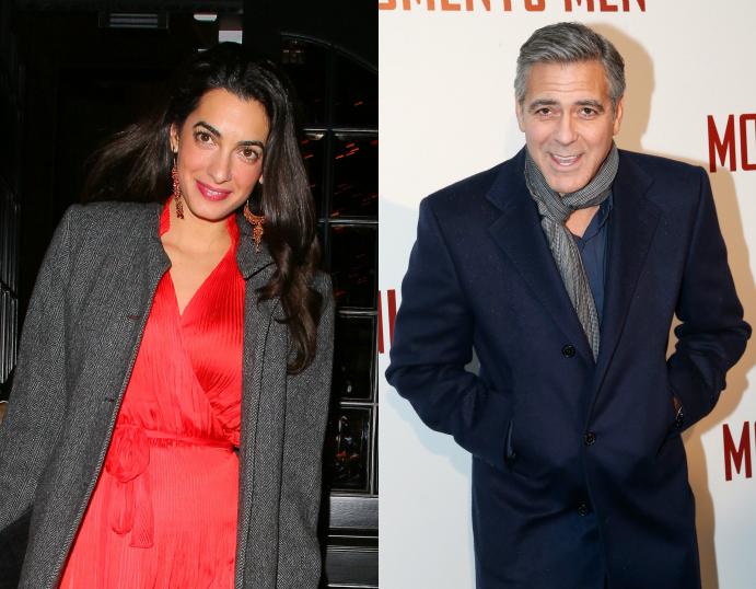 Джордж Клуни сделал предложение своей возлюбленной