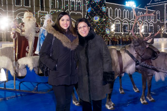Ирина Роднина с подругой