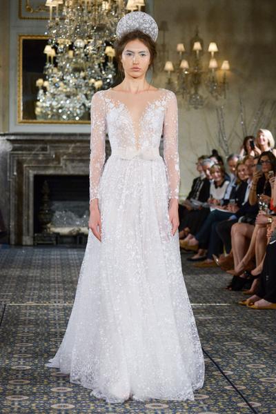 50 самых красивых платьев со Свадебной Недели Моды в Нью-Йорке | галерея [1] фото [3]