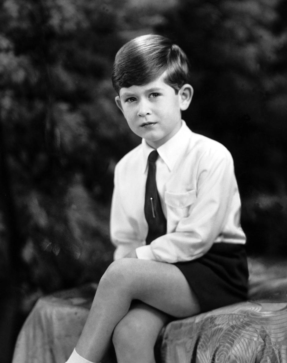 Принц Чарльз в детстве