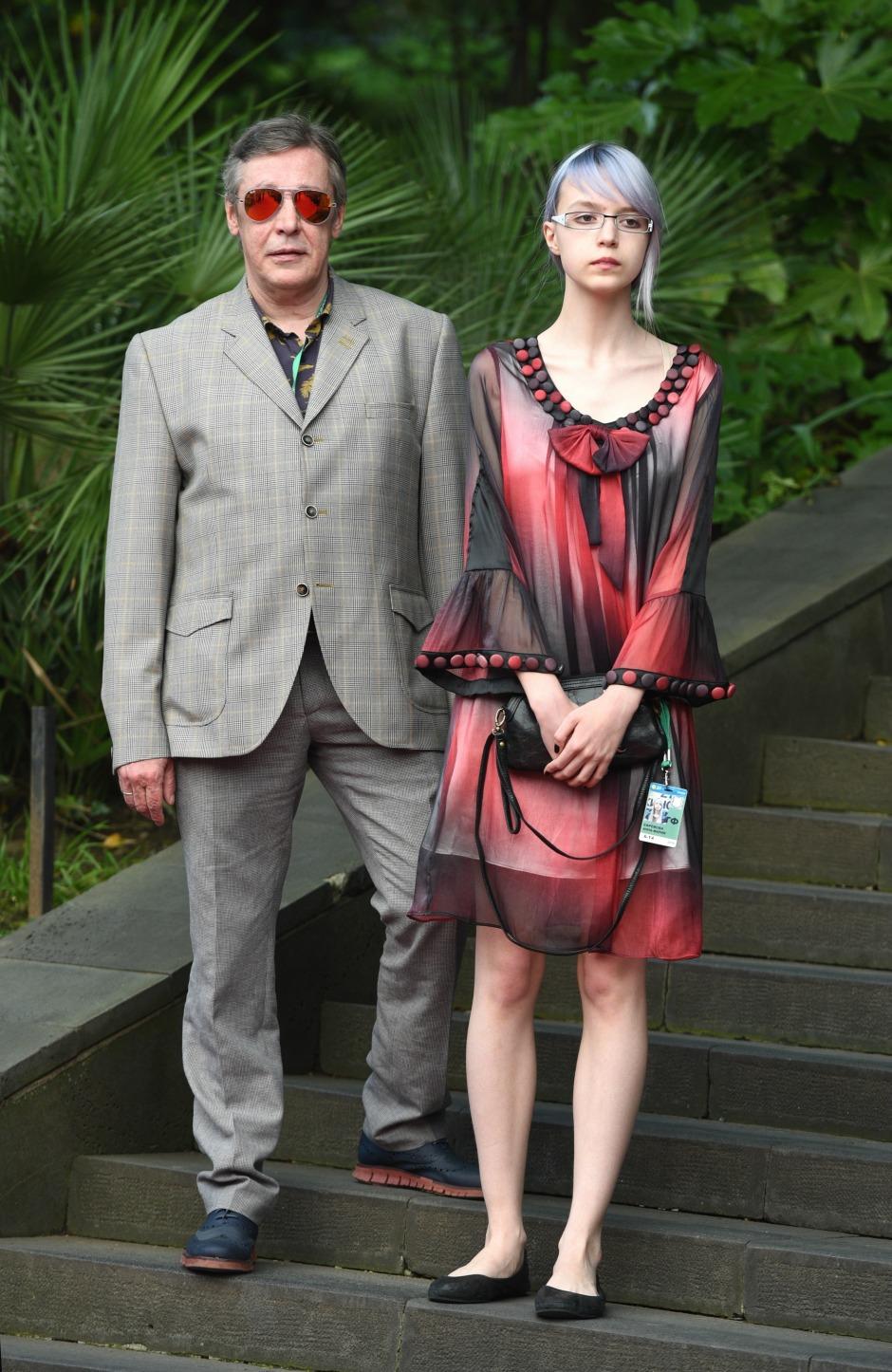 Михаил Ефремов с дочерью