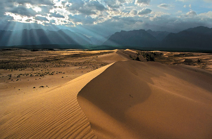 Чарские пески, Забайкалье