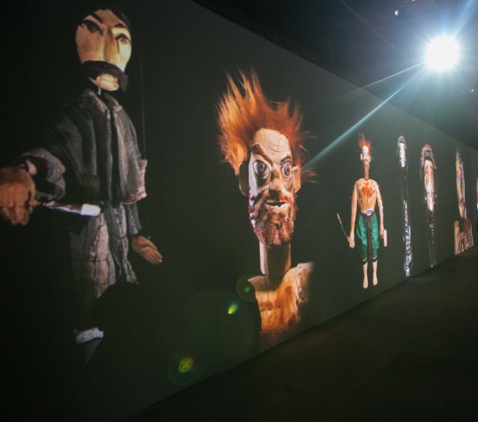 «Необыкновенная выставка Резо Габриадзе» в Музее Москвы