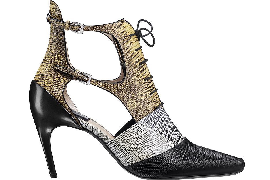 Туфли из кожи, Dior.